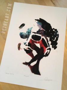 Mindscape #1-Techniques > Digital Graphic Artwork, Size > Medium (21-50 cm, eg. A4 and A3), Styles > Mindscapes-Rutheart
