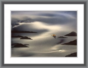 Coming Home-Techniques > Giclée Prints, Size > Medium (21-50 cm, eg. A4 and A3), Styles > Seascapes-Rutheart