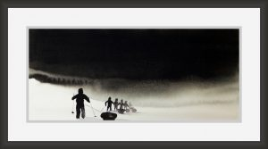 Walk in Silence-Techniques > Giclée Prints, Styles > Landscapes, Size > Medium (21-50 cm, eg. A4 and A3)-Rutheart