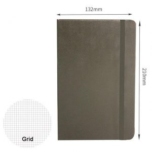 Classic A5 Hardcover Bullet Journal Notebook Dotted Grid Paper Bandage Planner Diary Agenda School Office Supplies-Rutheart