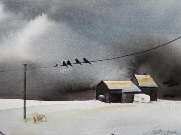 Latest Tweet-Techniques > Giclée Prints, Styles > Landscapes, Size > Medium (21-50 cm, eg. A4 and A3)-Rutheart